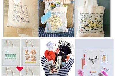 Le Welcome Bags per il matrimonio, un pensiero irresistibile per i vostri invitati