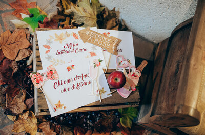 Decorazioni in legno per il tuo matrimonio 2017: un tocco rustic-chic!