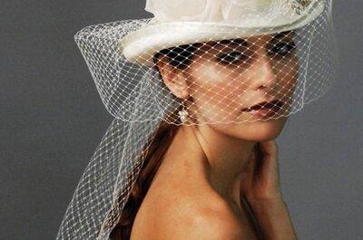 Een stijlvolle hoed voor de bruid – Louise Green Millinerry