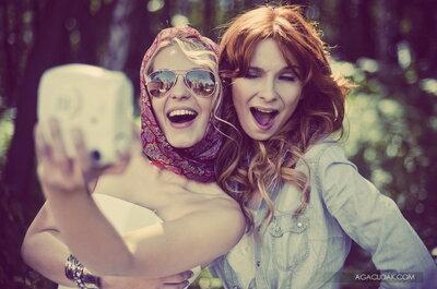 Thelma & Louise - podróż życia - sesja zdjęciowa panny młodej