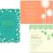 Invitaciones de boda coloridas con diferentes combinaciones