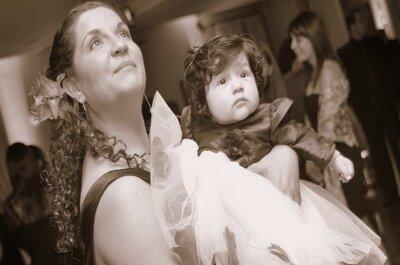 Consejos para organizar una boda con niños