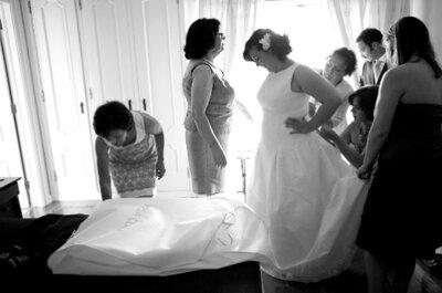 Fotografias da preparação dos noivos: momentos captados por Nuno Palha