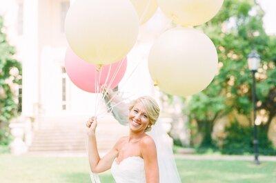 Incorpora globos en la decoración de tu boda: Fantasía y diversión al instante