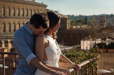Félix et Sarah : leur sublime mariage mixte sous le soleil de Florence