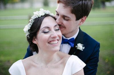 Camille + Jonathan : Une rencontre 2.0, une demande en mariage à Tokyo et un joli jour fleuri dans l'Oise