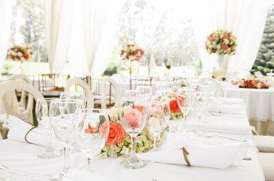 ¿Estás pensando en celebrar tu matrimonio en la tarde? ¡Las cinco razones definitivas para decidirte!