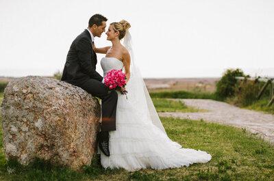Iker y Sara, el encanto de una boda en el pueblo