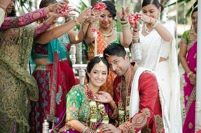 Conoce detalles de la cultura india a través de la boda de Jeissica e Vishnus