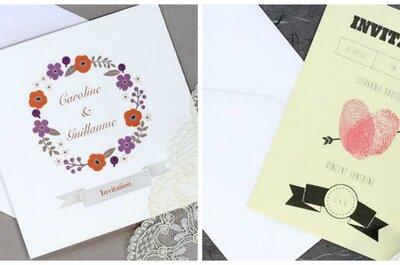 Créez votre faire-part de mariage unique et personnalisé sur PaperShaker