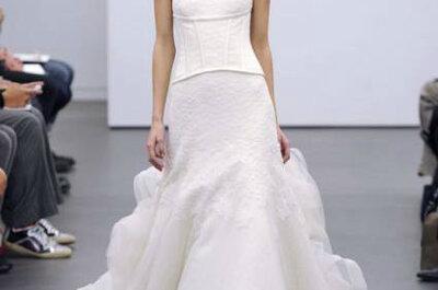 Um vestido de noiva branco? A novidade é ser assinado por Vera Wang