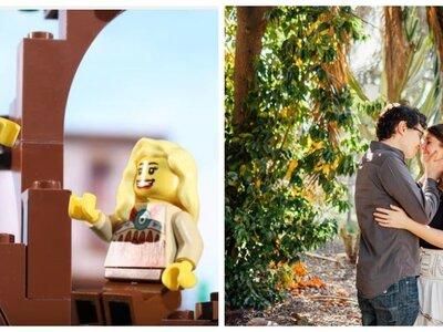My Love Story in LEGO : Il retrace son histoire d'amour en LEGO dans une vidéo adorable