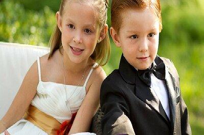 Especial Día del Niño: ¿cómo vestir a los 'peques' en la boda?