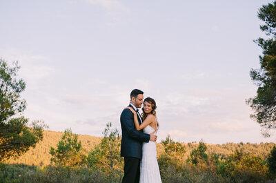 El amor a primera vista existe: la boda de Nando y Miriam