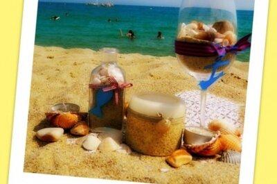 Dekoracje na wesele z motywem plaży