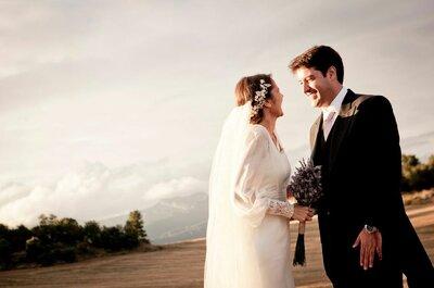 Alternativas al velo tradicional de novia