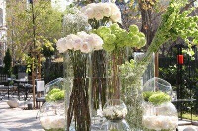 No descuides los arreglos florales para tu boda