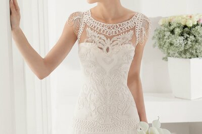 Vestidos de Noiva Alma Novias 2015: looks belos e clássicos