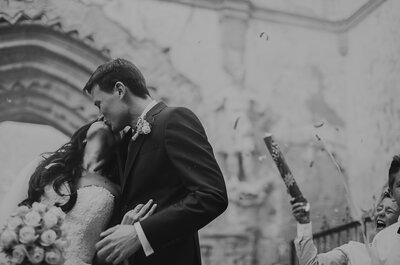 ¿Y si las alianzas viniesen volando?: la boda de Bea y Juan