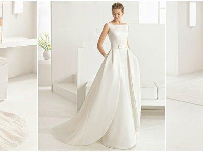 Robes de mariée Rosa Clará Two 2017 : des créations romantiques avec une touche chic