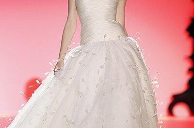Tendencias 2013: Vestidos de novias con plumas