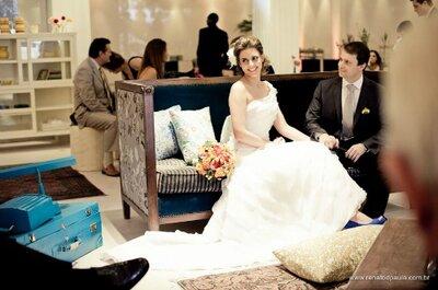 O brilho de um casamento intimista