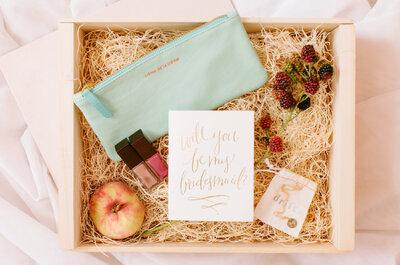 Los regalos que tus damas de boda amarán sí o sí: ¡Todos son perfectos!