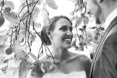 Em um castelo e na beira do rio: o casamento de Fernanda e Jan-Paul