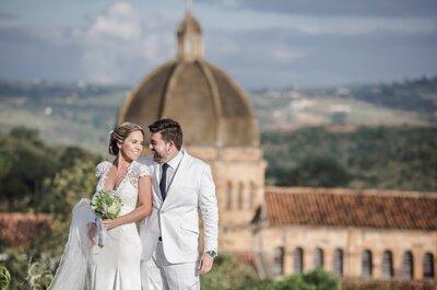 Los 5 mejores fotógrafos de boda en Bucaramanga