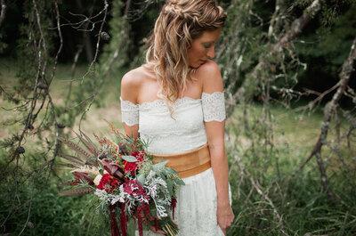 Tendencias en peinados relajados para novias bohemias