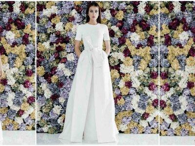 Brautkleider in der Farbe Nude 2017 –Wundervolle Designs für die edle Braut