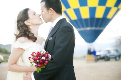 Origineller Heiratsantrag gesucht? Wie wäre es mit dem perfekten Heiratsantrag im Heißluftballon?