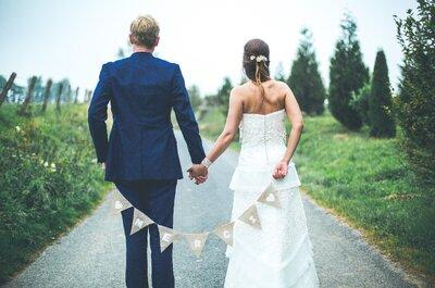 Un mariage sous la thèmatique de la campagne anglaise ? Découvrez l'histoire d'Héléne et François Xavier