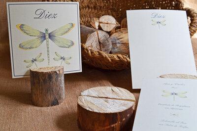 Papelería de boda con aires otoñoles: ideas que marcan la diferencia