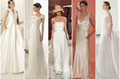 Ecco le proposte di Zankyou per la sposa minimal del 2013!
