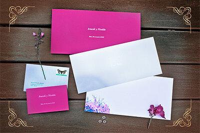 Tres sugerencias para elegir las invitaciones de tu boda de invierno