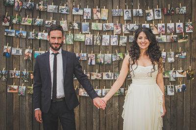 Constanza y Diego, ¡un matrimonio muy floral y colorido!