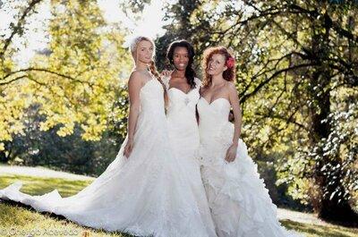 Novia al natural: 3 novias, 3 vestidos, 6 looks