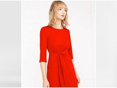 Te encantarán estos vestidos de fiesta rojos cortos 2017
