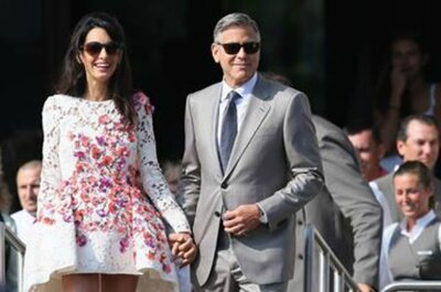 Venezia si tinge di rosa: George Clooney e Amal Alamuddin sposi sul Canal Grande