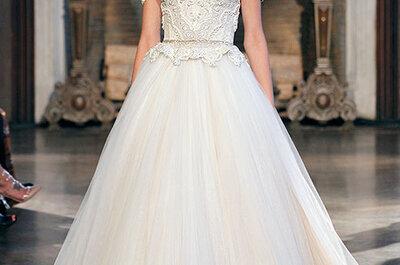 Inbal Dror 2015: Vestidos de novia que le dan forma al lujo