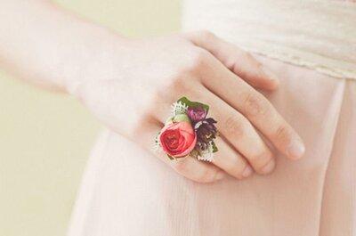 Corsages para noivas: vejo FLORES em você!