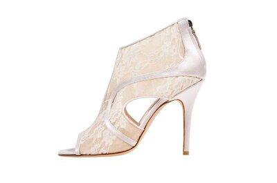 Collezioni 2014: le scarpe da sposa di Monique Lhuillier
