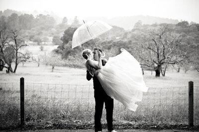 ¿Qué se puede hacer si llueve en mi boda? 6 tips que te sacarán del apuro