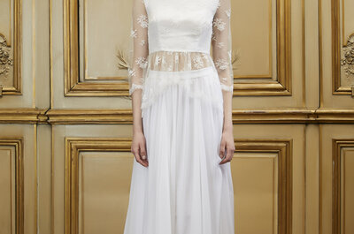 Gowns for bustier brides: Voluptuous elegance
