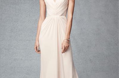 Os mais lindos vestidos para convidadas e madrinhas na cor nude para 2015