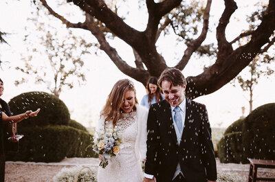 Cómo organizar una boda íntima: 7 claves infalibles