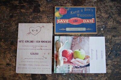 Rompé con la tradición para tus invitaciones de boda