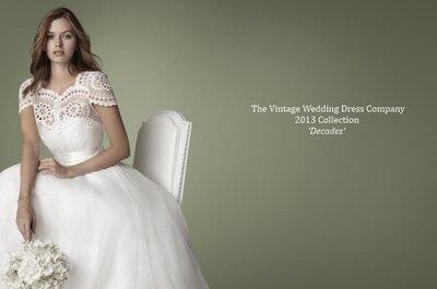 The Vintage Wedding Dress Company - jeszcze więcej vintage na 2013 rok!