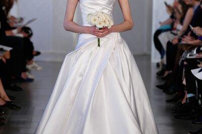 Vestidos de novia Óscar de la Renta 2017: vestidos únicos que querrás lucir